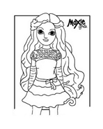 Moxie girlz da colorare 23