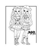 Moxie girlz da colorare 24