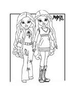 Moxie girlz da colorare 26