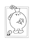 Mr men da colorare 25