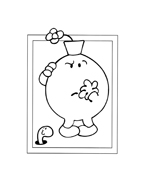 Mr men da colorare 93