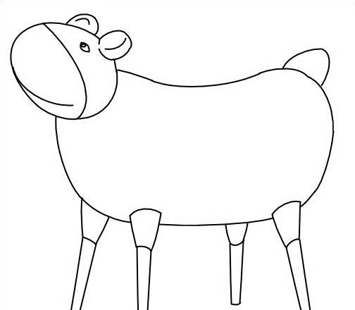 Mucca e bufalo da colorare 24