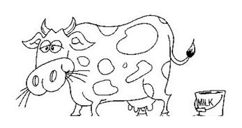Mucca e bufalo da colorare 31