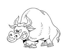 Mucca e bufalo da colorare 32