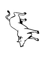 Mucca e bufalo da colorare 41