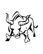 Mucca e bufalo da colorare 42