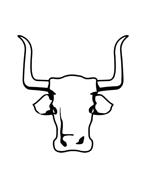 Mucca e bufalo da colorare 43