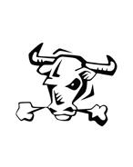 Mucca e bufalo da colorare 58
