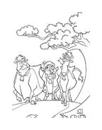 Mucche alla riscossa da colorare 17