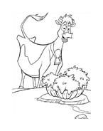 Mucche alla riscossa da colorare 37