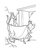 Mucche alla riscossa da colorare 42