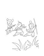 Mulan da colorare 2