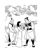 Mulan da colorare 66