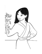 Mulan da colorare 72