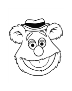 I Muppet da colorare 4