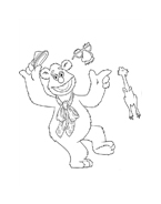 I Muppet da colorare 11