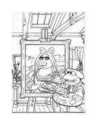 I Muppet da colorare 72
