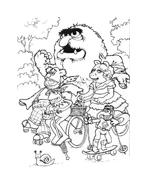 I Muppet da colorare 77