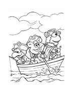 I Muppet da colorare 86