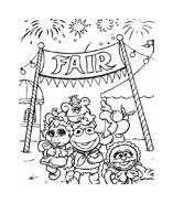 I Muppet da colorare 105