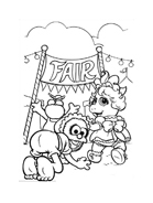 I Muppet da colorare 107