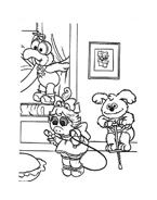 I Muppet da colorare 114