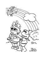 I Muppet da colorare 117