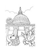 I Muppet da colorare 123