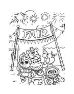 I Muppet da colorare 127