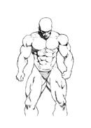 Corpo umano da colorare 74