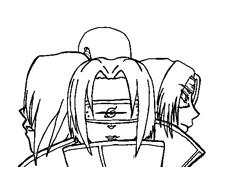 Naruto da colorare 16