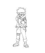 Naruto da colorare 19
