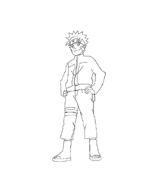 Naruto da colorare 20