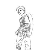 Naruto da colorare 26