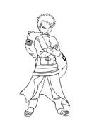 Naruto da colorare 45