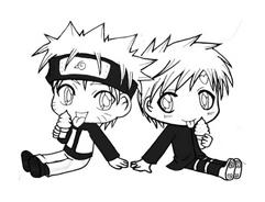 Naruto da colorare 47