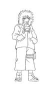 Naruto da colorare 54