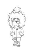 Naruto da colorare 57