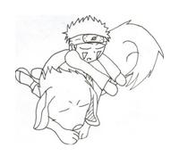 Naruto da colorare 58