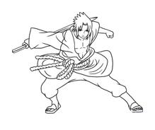 Naruto Da Colorare Disegnidacolorare It