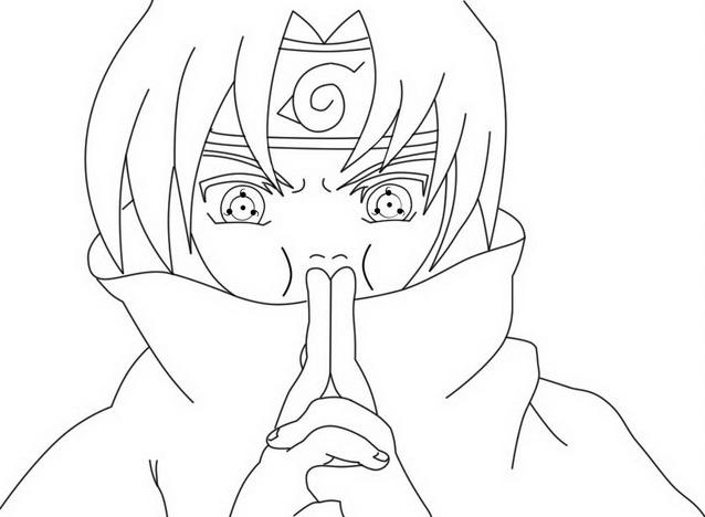 Naruto da colorare 74
