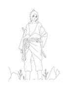 Naruto da colorare 75