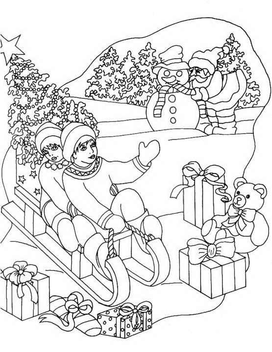 Natale 2 da colorare 199