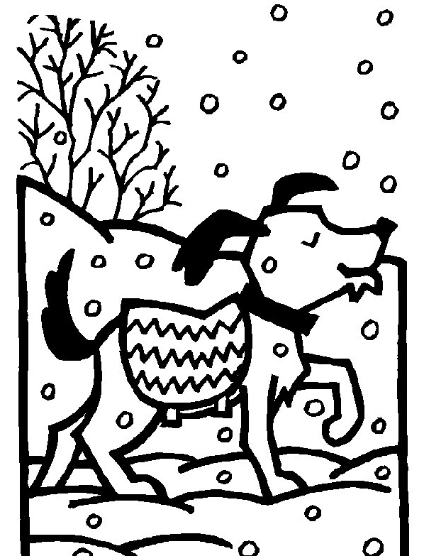 Inverno da colorare 70