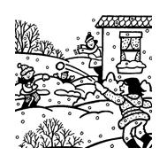 Inverno da colorare 71