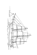 Nave e barca da colorare 79
