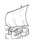 Nave e barca da colorare 81