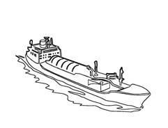 Nave e barca da colorare 82