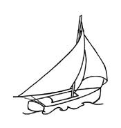 Nave e barca da colorare 96