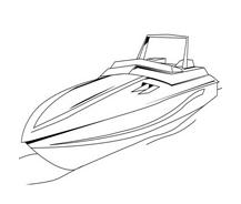 Nave e barca da colorare 98